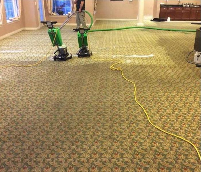 Commercial Carpet Cleaning - Morgantown Before