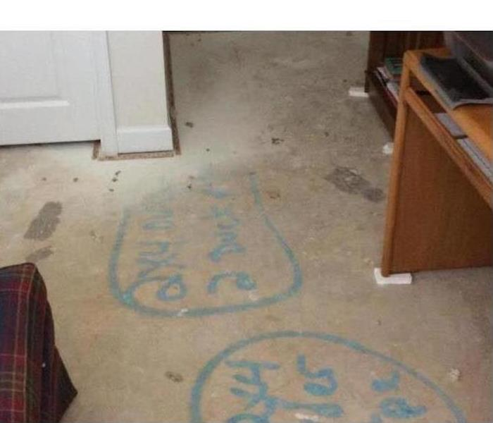Water Damage – Morganton Office After